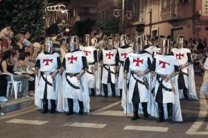 Traje de hombres Cavallers Templaris
