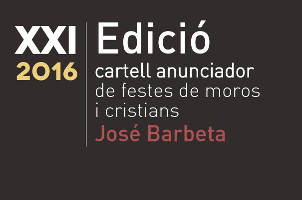 Bases del concurso del cartel anunciador de moros y cristianos de Paterna, 2016