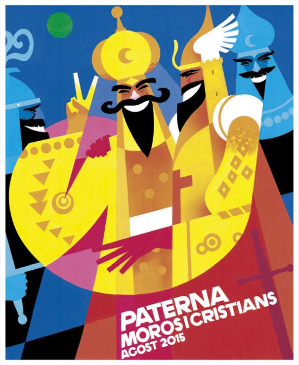 Cartel ganador de la XX Edición del Concurso del Cartel Anunciador de Fiestas de Moros y Cristianos José Barbeta