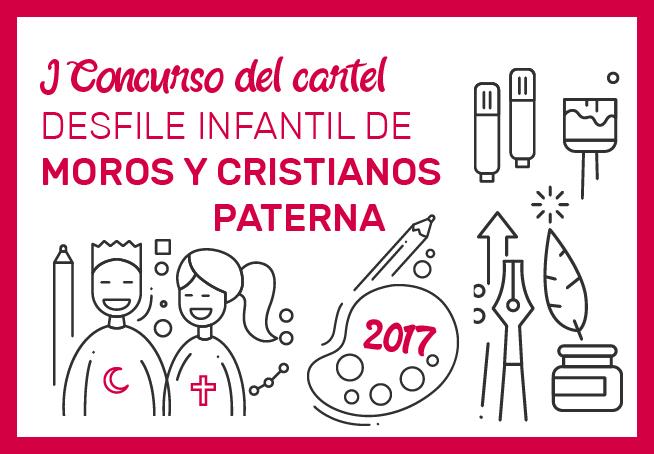 Bases del concurso del cartel infantil de Moros y Cristianos de Paterna
